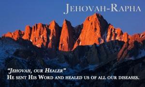 8-Jehovah-Rapha