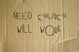 church homeless
