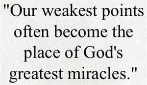 weakest points