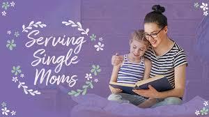 serving single moms
